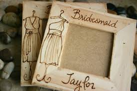 picture frame wedding favors bridesmaid gifts set of 12 your dress engraved on a wood frame