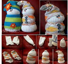 bonecos de neve feitos de meias bonecos feitos com meias