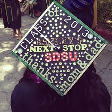 Grad Cap Decoration Ideas Decorated Graduation Caps Graduation Decorations Ideas For A