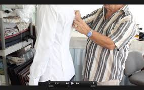 how to tailor a dress shirt youtube