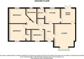 bungalow floor plan 2 bedroom bungalow floor plans uk search property