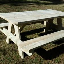 Patio Table And Bench Custom Outdoor Furniture Custommade Com