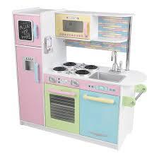 cuisine pastel amazon com kidkraft uptown pastel kitchen playset toys