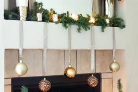 How To Decorate Garland With Ribbon Simple And Elegant Christmas Mantel Decorations