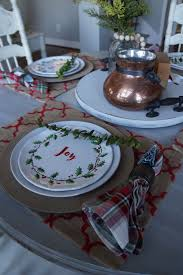 table setting pictures casual christmas table setting easy as 1 2 3 wilshire