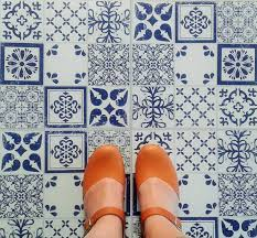 azulejos vinyl floor tiles adhesive retro and kitchens