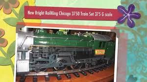 new bright railking chicago 3750 set 375 g scale