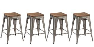 Bar Stools Clearance Btexpert 24 Inch Industrial Stackable Metal Vintage Antique Style