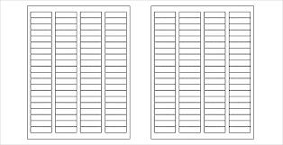 blank label template 15 free label templates free sle exle format