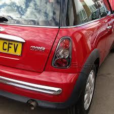altezza car black 2001 2004 mini cooper altezza tail lights black