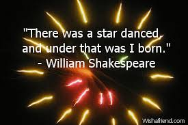 Wars Happy Birthday Quotes There Was A Star Danced And Happy Birthday Quote
