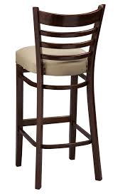 regal seating series 415 wooden ladder back counter height bar