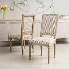 Oak Fabric Dining Chairs Oak Dining Room Chairs Ebay