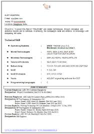Sample Resume For Software Tester Fresher by Experienced Resume Format Template 8 Free Word Pdf Format