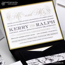and black wedding invitations gold wedding invitations classic black and gold wedding