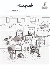 download respect coloring pages ziho coloring