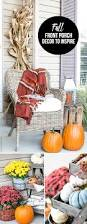 fall front porch decor live laugh rowe