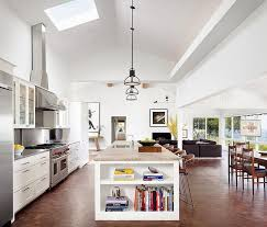 Open Living Room Kitchen Designs Mid Century Home By Mark Ashby Design Interior Inspiration