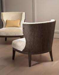 classic armchair grace wood armchair in grey sukupira bellavista collection
