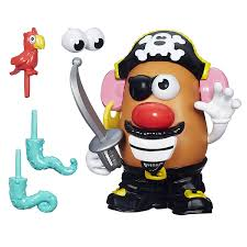 playskool mr potato head pirate spud amazon co uk toys u0026 games