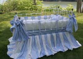 lulla smith blue sorbonne baby bedding lulla smith sorbonne crib