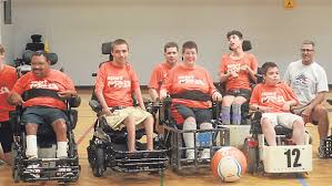 power soccer brings out the competitive spirit in tournament