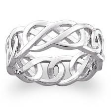 celtic knot wedding bands sterling silver celtic knot wedding band ring buy ring product