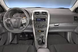 toyota l vs le 2013 toyota corolla car review autotrader