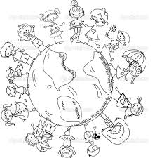 free printable children around the world coloring pages 49 for