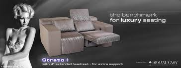 Movie Theater Sofas by Home Cineak Home Theater And Private Cinema Seating Media Room
