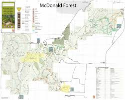 Map Of Oregon State by Osu Research Forests Maps Research Forests