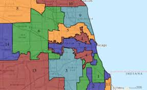 chicago voting map illinois congressional districts
