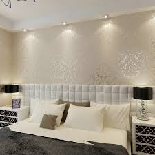silver damask wallpaper promotion shop for promotional silver