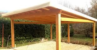 tettoia legno auto tettoie per auto legno costruire