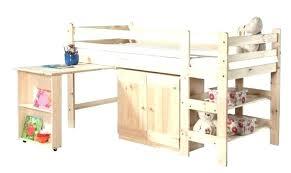 bureau en pin massif combine lit bureau junior ultralab co