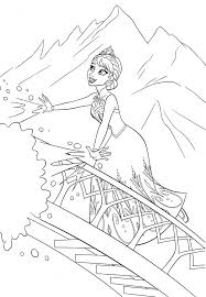 frozen coloring pages a z colouring many interesting cliparts