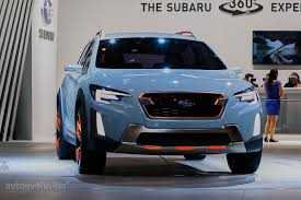 subaru crosstrek hybrid 2017 2017 subaru xv crosstrek previewed by this rugged concept in