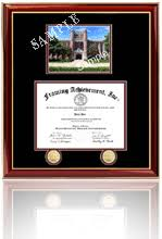 diploma frame size denison graduation gift certificate frames shop