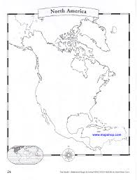 Canada Blank Map by Fill In The Blank World Atlas Summer For Boys Pinterest