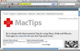 Iphone 5 Top Bar Icons Customise The Safari Bookmarks Bar Mactips Top Tips And Tricks
