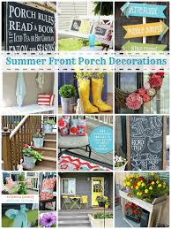 summer front porch decorating ideas tauni co