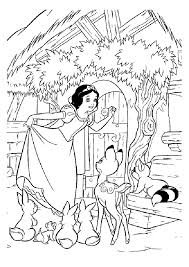 snow white printable coloring pages 320121