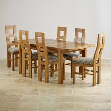Oak Dining Table With 6 Chairs Dining Table And 6 Chairs Oak