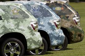 hydrogen fuel cell cars don camouflage join army
