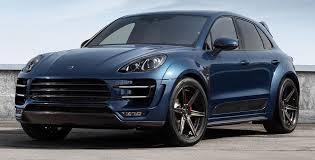La Suisse Un Developpement Impressionant Topcar Blue Porsche Macan On Adv6 Mv2 Sl Jante Exemplaire Et
