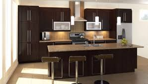 Dark Kitchen Cabinets With Backsplash Dining Room Simple Black Kitchen Cabinets With Old Masters Gel