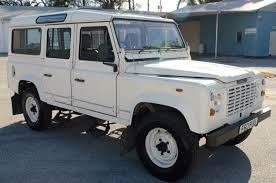 white land rover defender land rover defender 110 v8 white for sale in bradenton florida