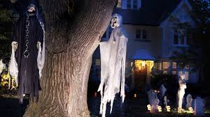 what to say if neighbors u0027 halloween decorations are too scary