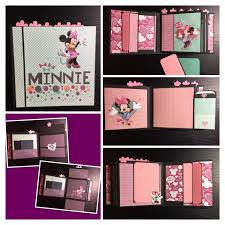 minnie mouse photo album disney photo album minnie mouse scrapbook minnie album disney mini