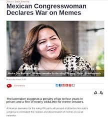 Mexican Women Meme - mexican congresswoman declares war on memes album on imgur